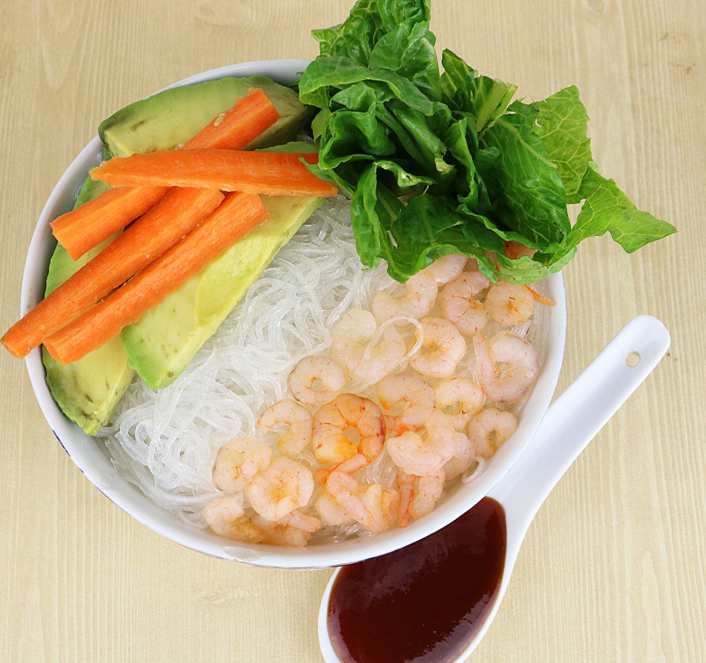Shrimp Spring Bowl