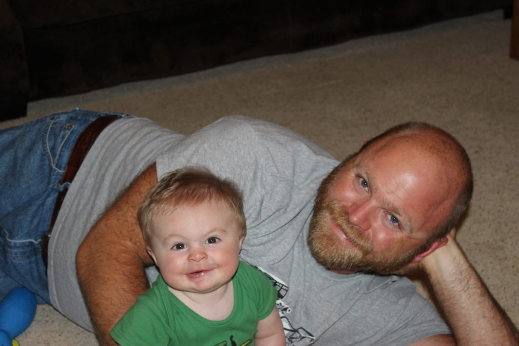 Clay and Daddy