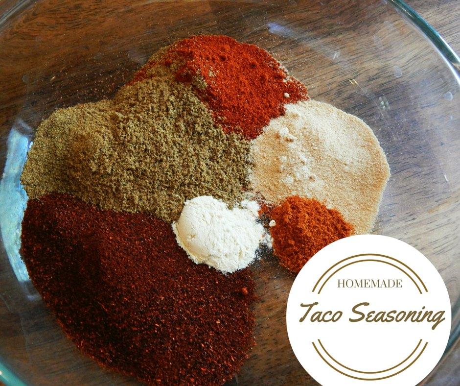 homemade taco seasonings