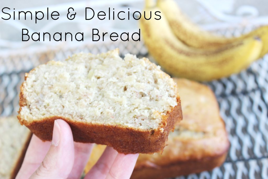 Simple Homemade Banana Bread
