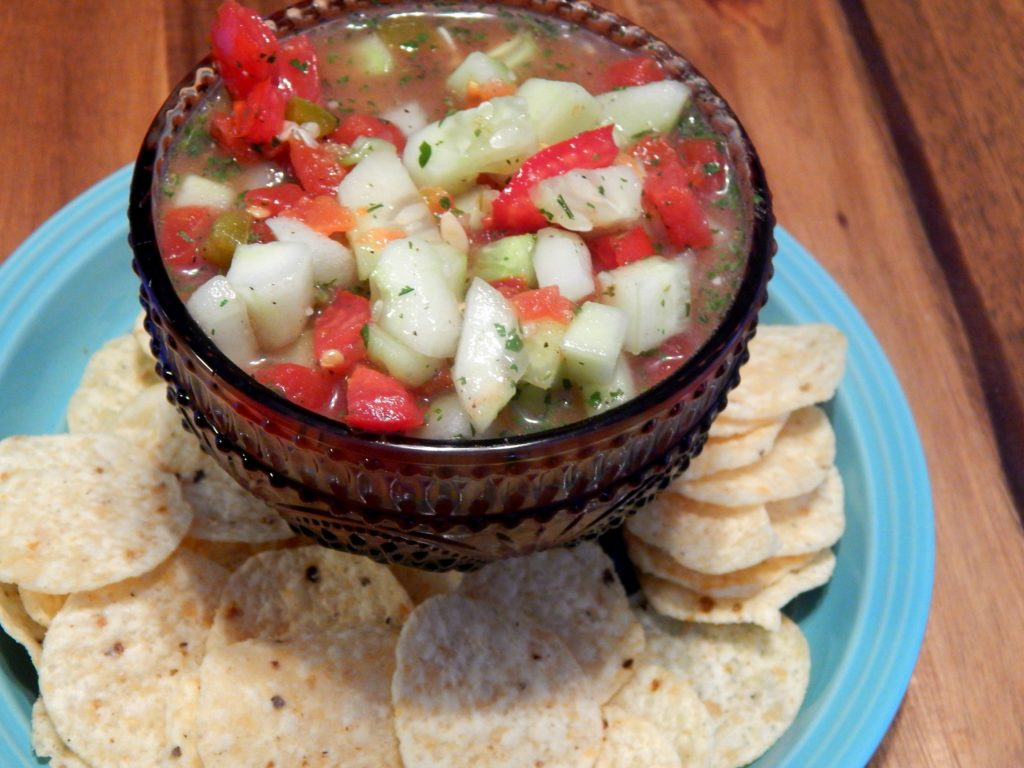 tomato cucumber salsa recipe
