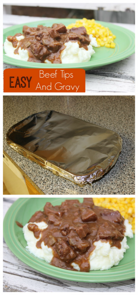 If you are looking for an easy beef tips and gravy recipe, look no further! You have come to the right place! Perfect for a weeknight dinner.