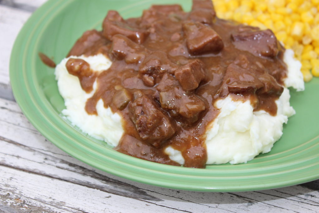 Easy Beef Tips and Gravy Recipe