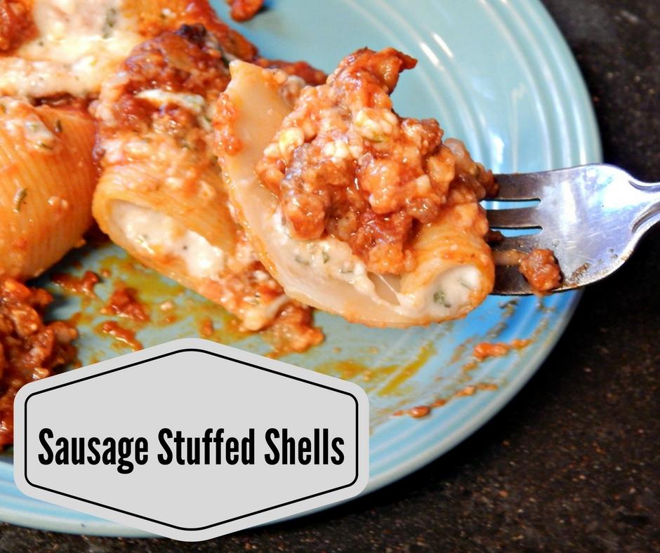 Stuffed Jumbo Pasta Shells Recipe