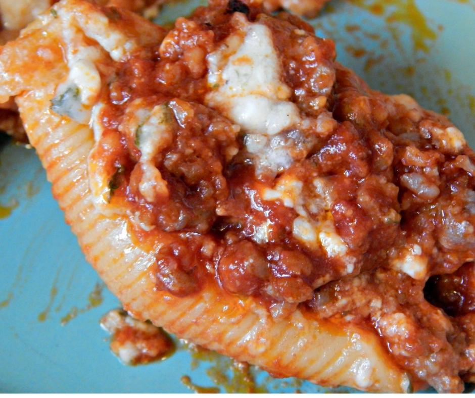 Sausage Stuffed Shells Recipe